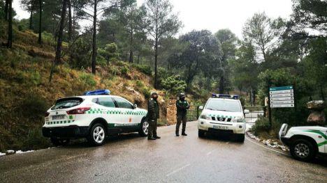 Cerrado el acceso a Sierra Espuña por La Perdiz y Las Alquerías