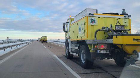La Región acude en auxilio de Madrid por la borrasca Filomena
