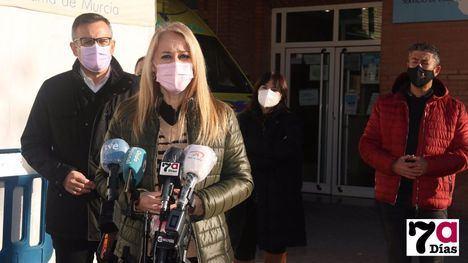 VÍD. El PSOE exige la ampliación del Centro de Salud de Alhama