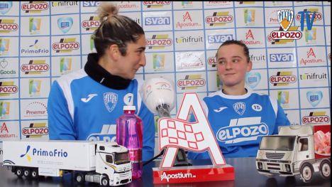 El Alhama CF presenta a Kiskonen y recupera a Andrea Carid