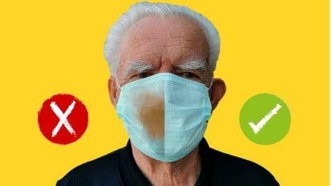 Protege tu salud, una nueva campaña para usar bien la mascarilla