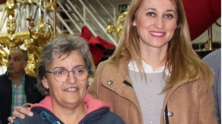 La alcaldesa se suma al dolor por la muerte de Belén Martínez