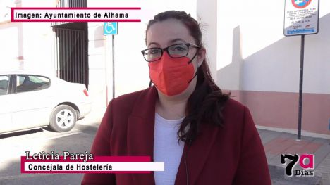 VÍDEO Este 2021 habrá más ayudas para hosteleros de Alhama