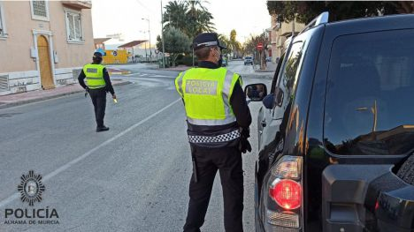 Dos detenidos en Alhama por conducir sin carné