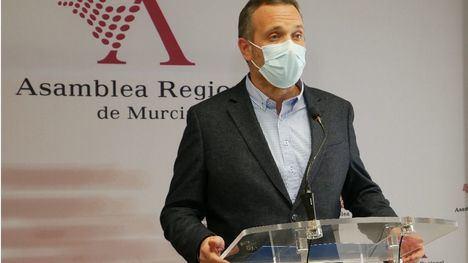 Joaquín Segado, portavoz del PP en la Asamblea regional