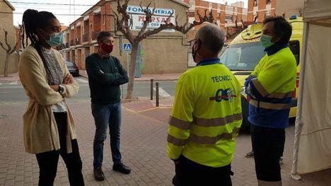Regresa a Alhama de Murcia la ambulancia no asistencial