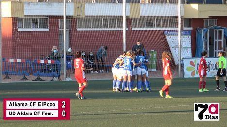 VÍD. Valiosa victoria del Alhama CF ElPozo en el J.Kubala (2-0)