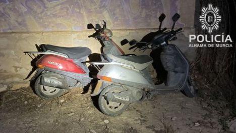 La Policía Local recupera 3 ciclomotores robados en una semana