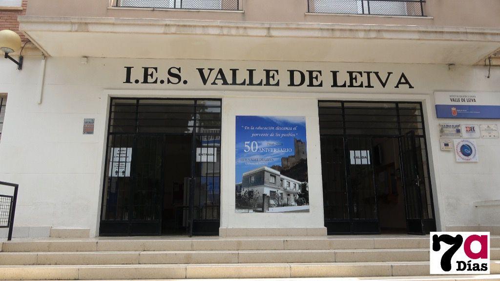 Cinco alumnos del IES Valle de Leiva, en cuarentena