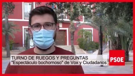 VÍD. El PSOE anima a C's y Vox a la reflexión tras el pleno de enero