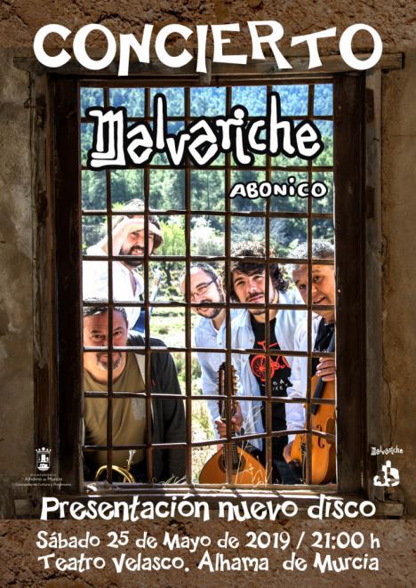Malvariche presenta este sábado su nuevo disco en el Velasco