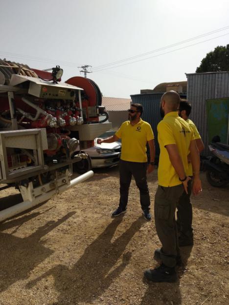 La brigada forestal de Alhama, en formación continua