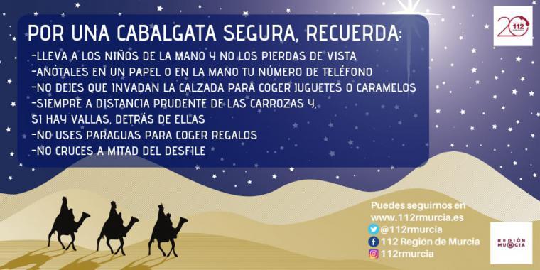 Seis consejos para una Cabalgata de Reyes segura para los niñ@s