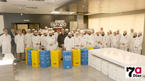 VÍDEO ElPozo inicia un proyecto de reciclaje de residuos domésticos