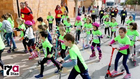El CEIP R. Codorníu celebra la 3º Carrera Solidaria sobre ruedas