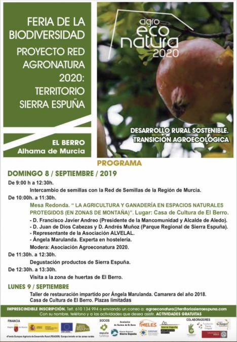 El Berro acogerá la primera Feria de la Biodiversidad